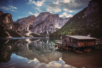 Jean Claude Castor, Pragser Wildsee in den Dolomiten (Italien, Europa)