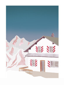 Christina Wolff, Mantika Mountain Love Berghütte (Deutschland, Europa)