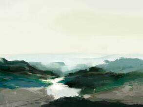 Highland View - fotokunst von Dan Hobday