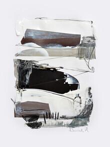 Dan Hobday, Black and White Abstract (United Kingdom, Europe)
