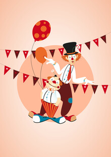 Pia Kolle, Zirkus-Clowns (Deutschland, Europa)