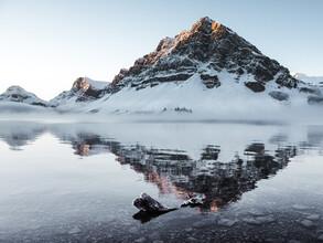 Sonja Lautner, Morgens am Bow Lake (Kanada, Nordamerika)