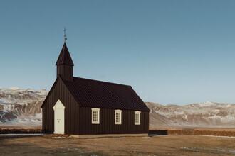 Pascal Deckarm, Schwarze Kirche in Budir (Island, Europa)