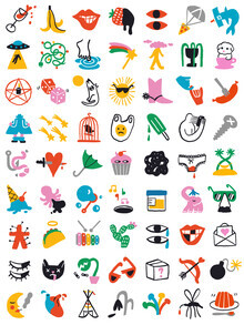 Aley Hanson, Relevant Symbols (Australia, Oceania)