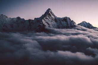 Roman Königshofer, Ama Dablam in the Himalayas of Nepal (2) (Nepal, Asia)