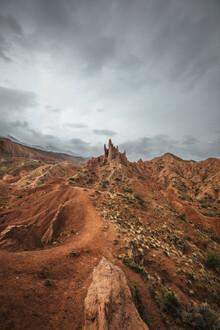 Leander Nardin, fairy tale canyon (Kyrgyzstan, Asia)