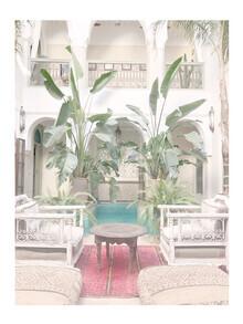 Mantika Marrakesch Riad - fotokunst von Christina Wolff