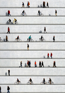 Wall People Detail 17 - fotokunst von Eka Sharashidze