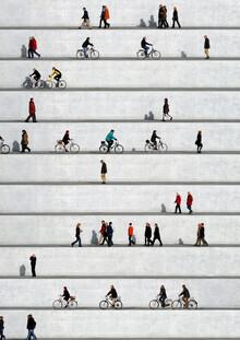 Eka Sharashidze, Wall People Detail 17 (Deutschland, Europa)