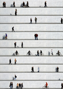 Eka Sharashidze, Wall People Detail 19 (Germany, Europe)