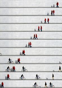 Eka Sharashidze, Wall People Detail 20  (Deutschland, Europa)