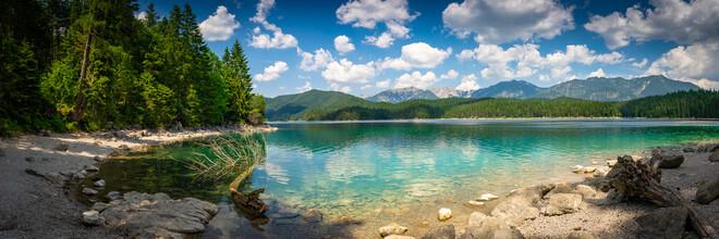 Martin Wasilewski, Mountain Lake Panorama (Germany, Europe)