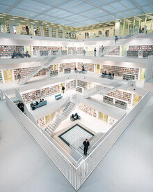 Dimitri Luft, Library (Germany, Europe)