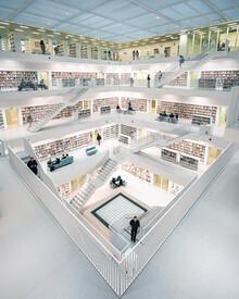 Dimitri Luft, Library (Deutschland, Europa)