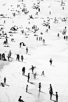 Kathrin Pienaar, People on the beach (United Kingdom, Europe)