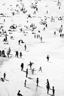 Kathrin Pienaar, People on the beach (Großbritannien, Europa)