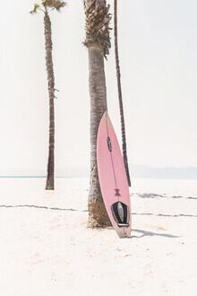 Kathrin Pienaar, Pink Surfboard (United States, North America)