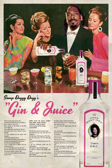 David Redon, Gin & juice (France, Europe)