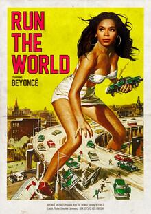 David Redon, Run the world (Frankreich, Europa)