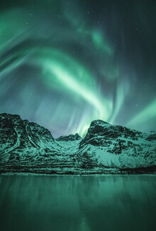 Sebastian Worm, The Aurora Lake (Norway, Europe)