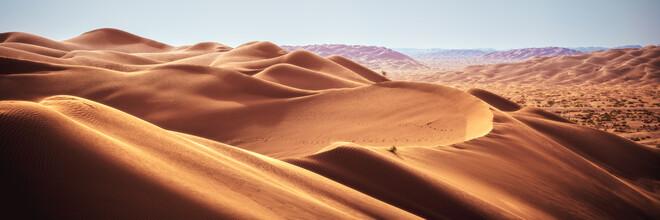 Jean Claude Castor, Rub al Khali Wüste in Oman als Panorama (Oman, Asien)