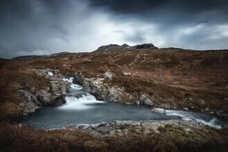 Felix Baab, Flussbecken im Nationalpark Hardangervidda (Norwegen, Europa)