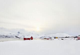 Victoria Knobloch, Morning mood in Skulsfjord (Norway, Europe)