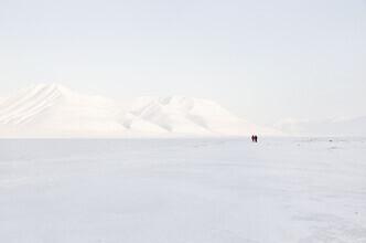 Victoria Knobloch, Somewhere in the white desert.... (Norway, Europe)