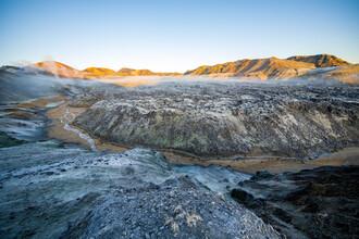 Franz Sussbauer, Blick über das Lavafeld bei Landmannalaugar (Island, Europa)