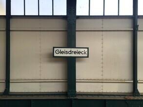 Claudio Galamini, U-Bahnhof Gleisdreieck (Deutschland, Europa)