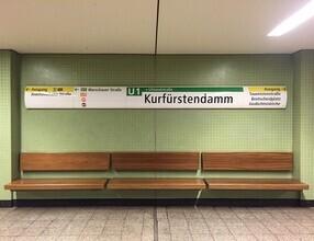Claudio Galamini, U-Bahnhof Kurfürstendamm (Deutschland, Europa)