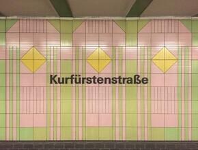 Claudio Galamini, U-Bahnhof Kurfürstenstraße (Deutschland, Europa)