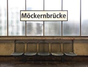 Claudio Galamini, U-Bahnhof Möckernbrücke (Deutschland, Europa)