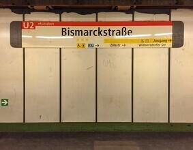 Claudio Galamini, U-Bahnhof Bismarckstraße (Deutschland, Europa)