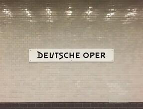 Claudio Galamini, U-Bahnhof Deutsche Oper (Deutschland, Europa)