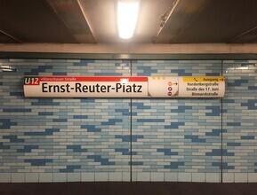 Claudio Galamini, U-Bahnhof Ernst-Reuter-Platz (Deutschland, Europa)