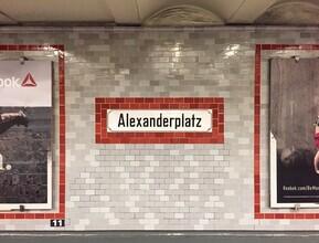 Claudio Galamini, U-Bahnhof Alexanderplatz (Deutschland, Europa)
