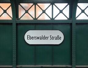 Claudio Galamini, U-Bahnhof Eberswalder Straße (Deutschland, Europa)