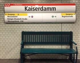 Claudio Galamini, U-Bahnhof Kaiserdamm (Deutschland, Europa)
