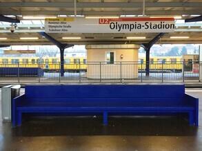 Claudio Galamini, U-Bahnhof Olympia-Stadion (Deutschland, Europa)