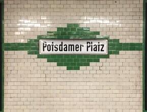 Claudio Galamini, U-Bahnhof Potsdamer Platz (Deutschland, Europa)