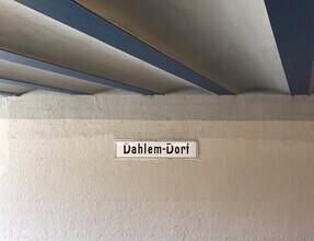 Claudio Galamini, U-Bahnhof Dahlem-Dorf (Deutschland, Europa)