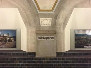 Claudio Galamini, U-Bahnhof Heidelberger Platz (Deutschland, Europa)