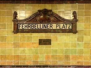 Claudio Galamini, U-Bahnhof Fehrbelliner Platz (Deutschland, Europa)