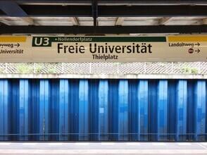 Claudio Galamini, U-Bahnhof Freie Universität (Deutschland, Europa)