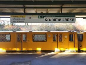 Claudio Galamini, U-Bahnhof Krumme Lanke (Deutschland, Europa)