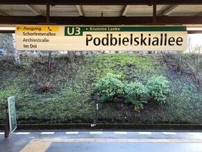 Claudio Galamini, U-Bahnhof Podbielskiallee (Deutschland, Europa)