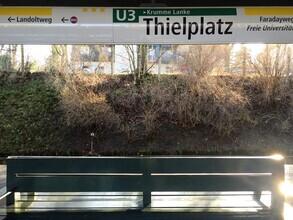 Claudio Galamini, U-Bahnhof Thielplatz (Deutschland, Europa)