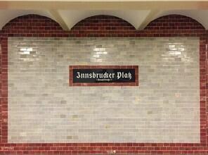 Claudio Galamini, U-Bahnhof Innsbrucker Platz (Deutschland, Europa)