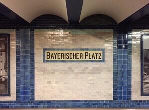 Claudio Galamini, U-Bahnhof Bayerischer Platz (Deutschland, Europa)